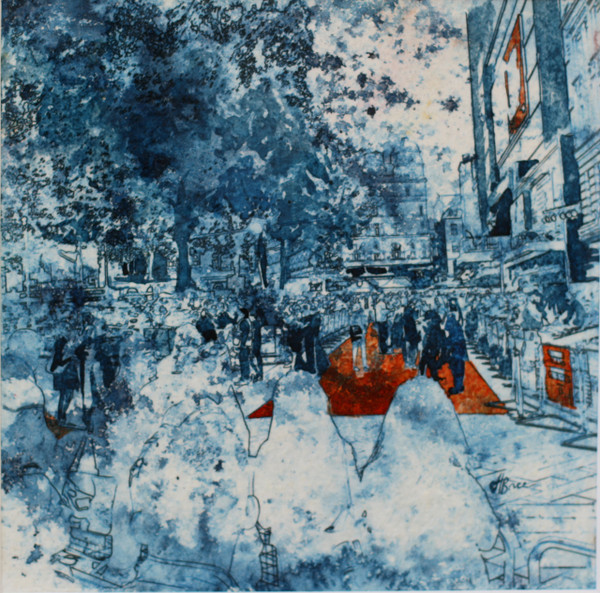 Leicester Square red carpet