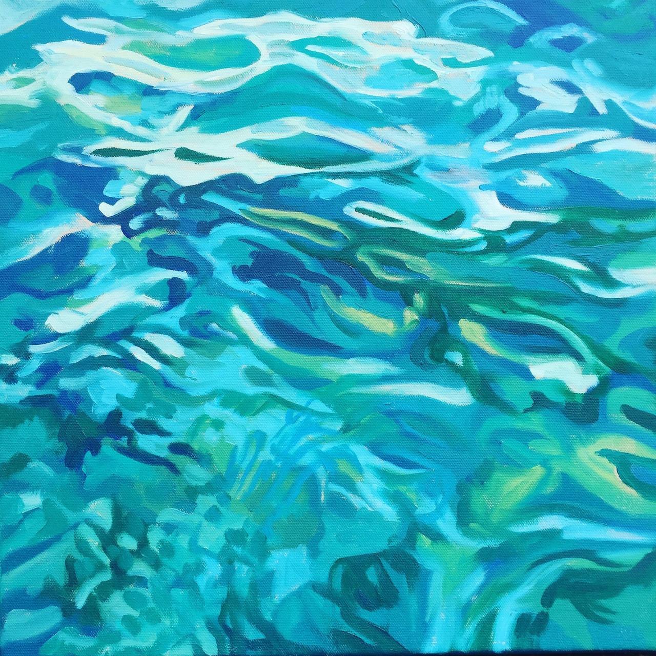 Water and Sky 7 from Series of Water surface paintings