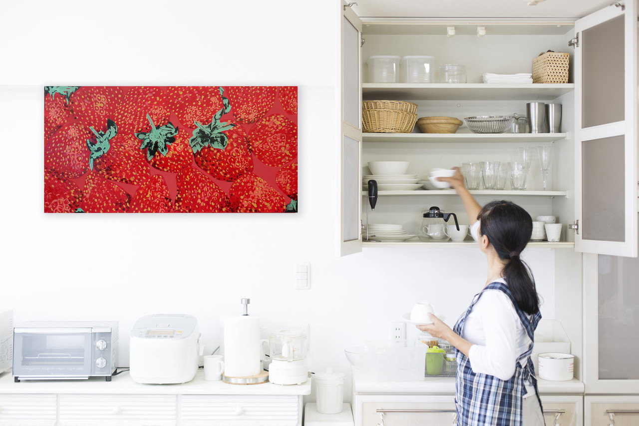 Kitchen art work for decor or decoration