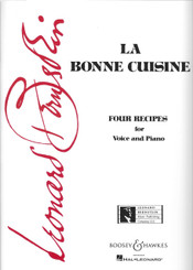 La Bonne Cuisine, Four Recipes for Voice and Piano