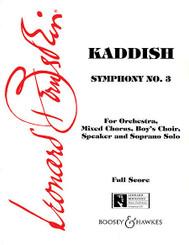 Symphony No. 3: Kaddish (Full Score)