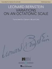 Variations on an Octatonic Scale Transcribed for Clarinet in B-flat and Cello