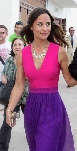 Pippa Middleton Wearing Bracelets