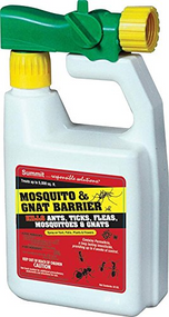Mosquito & Gnat Barrier with Hose End Sprayer Qt.