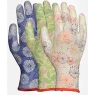 LFS Gloves 2603AP (Large) ASSORTED PATTERN W/PU PALM (12)