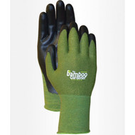 LFS Gloves 5371 (Small)  BAMBOO GARDENER WITH NITRILE (12)..