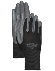 LFS Gloves (Medium) NITRILE TOUGH® 3700 BLACK (12)
