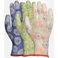 LFS Gloves 2603AP (Medium) ASSORTED PATTERN W/PU PALM (12)