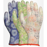 LFS Gloves 2603AP (Small) ASSORTED PATTERN W/PU PALM (12)