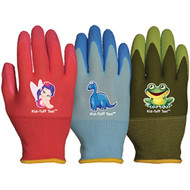 LFS Gloves (X-Small) KID TUFF TOO ASSORTED COLORS (12)