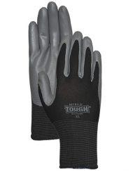 LFS Gloves (X-Large) NITRILE TOUGH® 3700 BLACK (12)