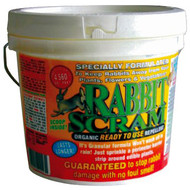 6 LB Rabbit Scram White Pail