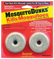 Mosquito Dunks 2 per card