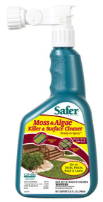 Moss, Algae Killer And Surface Cleaner 32 Oz. Hose Sprayer