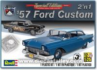 1/25 Revell 1957 Ford Custom (2n1 kit)