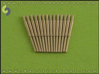 1/700 Master Models British 4in/45 (10.2 cm) QF HA Marks XVI barrels (14pcs) - most British warships