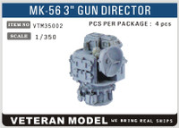 "1/350 Veteran Models Modern US Mk 56 3"" Gun Director"