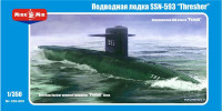 1/350 Micro-Mir USN Thresher SSN-593 Submarine