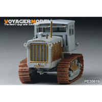 1/35 Voyager WWII Soviet ChTZ S-65 Tractor w/Cab(For TRUMPETER 05539)