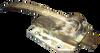 Polar Hardware Vintage 501 Lock - Often seen Painted