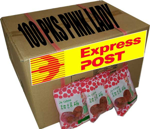 100pk pink lady express post
