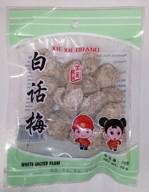 Xie Xie - White Salted Plum 70g