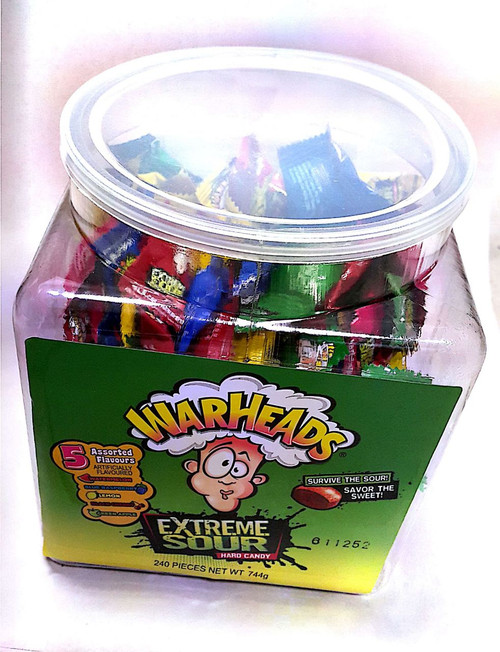 warheads extreme sour candy 240pk