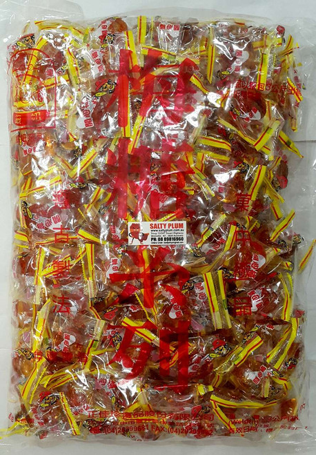 3kg Bag of Candy Salty Plums happy plums