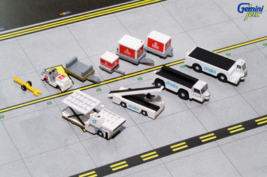 Gemini 200 GROUND EQUIPMENT #2 (Emirates w/ tugs) G2UAE639 1:200