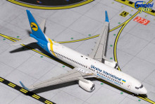 Gemini Jets UKRAINE INTERNATIONAL B737-800(W) UR-PSN GJAUI1363 1:400