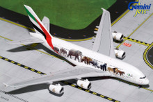 Gemini Jets EMIRATES A380-800 (Wildlife3 New Logo) A6-EEQ GJUAE1663 1:400