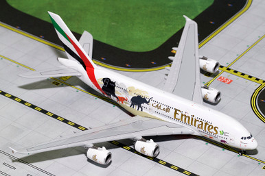 Gemini Jets EMIRATES A380-800 (Wildlife #2, New Logo) A6-EER GJUAE1668 1:400