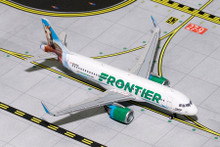 Gemini Jets FRONTIER A320neo N307FR (Champ the Bronco) GJFFT1617 1:400
