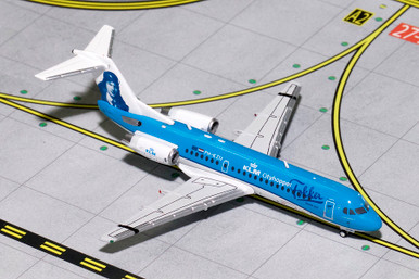 Gemini Jets KLM Fokker 70 (Farewell Livery) PH-KZU GJKLM1670 1:400