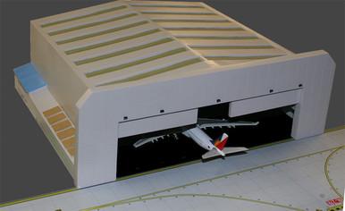 Gemini Jets 1/400 WIDEBODY AIRPORT HANGAR GJWBHGR2 1:400