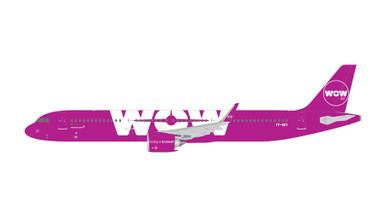 Gemini Jets WOW AIR A321neo TF-SKY GJWOW1686 1:400