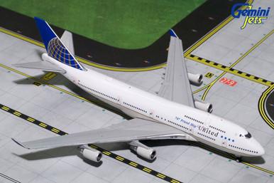 Gemini Jets UNITED B747-400 (747 Friendship) N121UA GJUAL1741 1:400