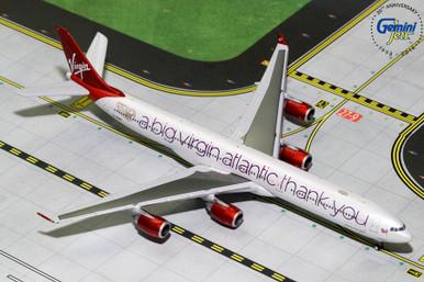 VIRGIN ATLANTIC A340-600 (A Big Thank You) G-VNAP GJVIR1766 1:400