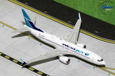 WESTJET B737 MAX-8 (Old Livery) C-FRAX GJWJA1823 1:400
