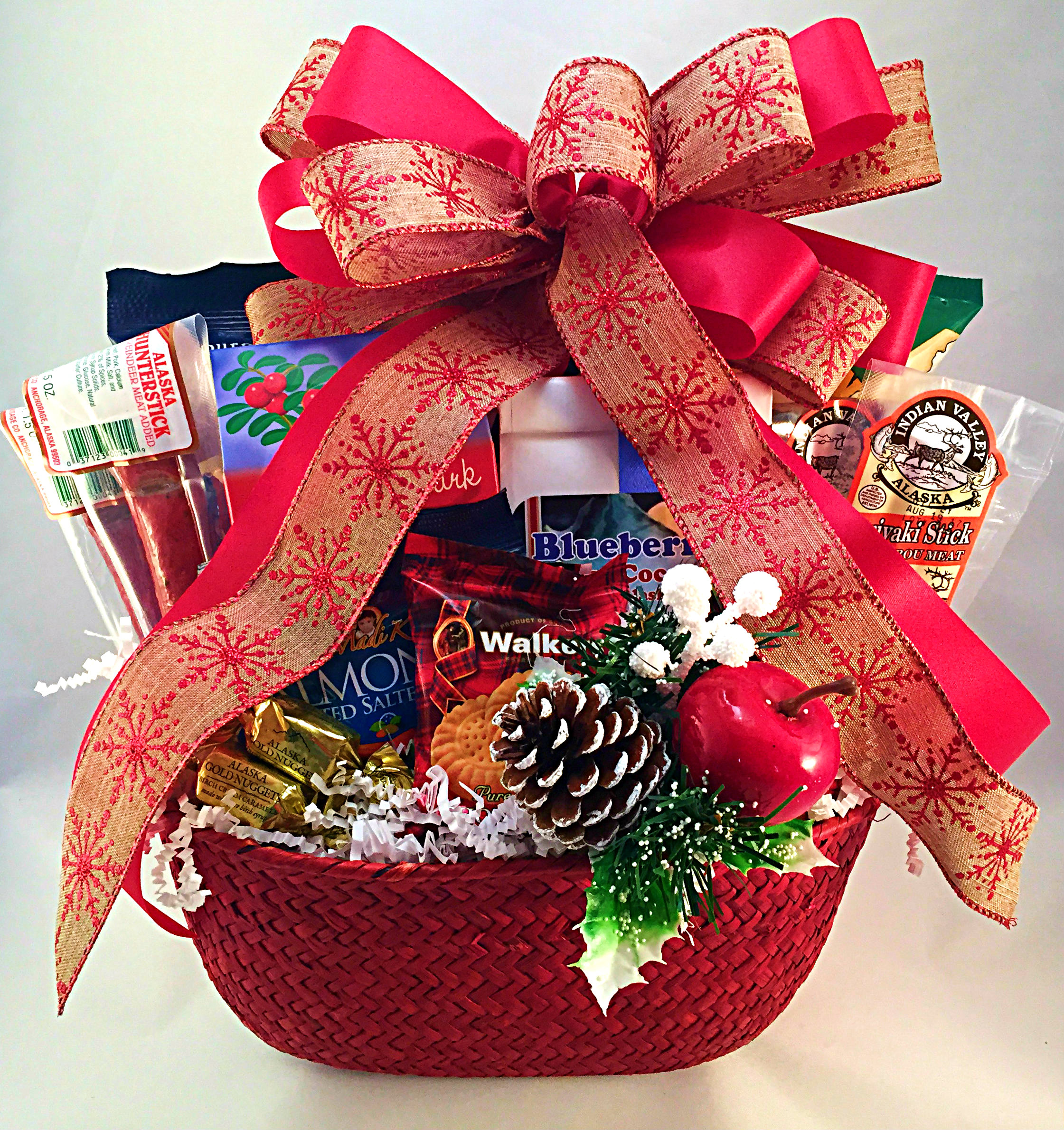 The North Pole Alaskan Gift Basket