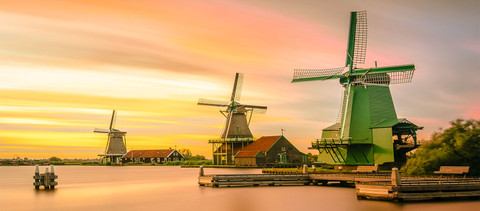 The Most Popular Windmills in Holland