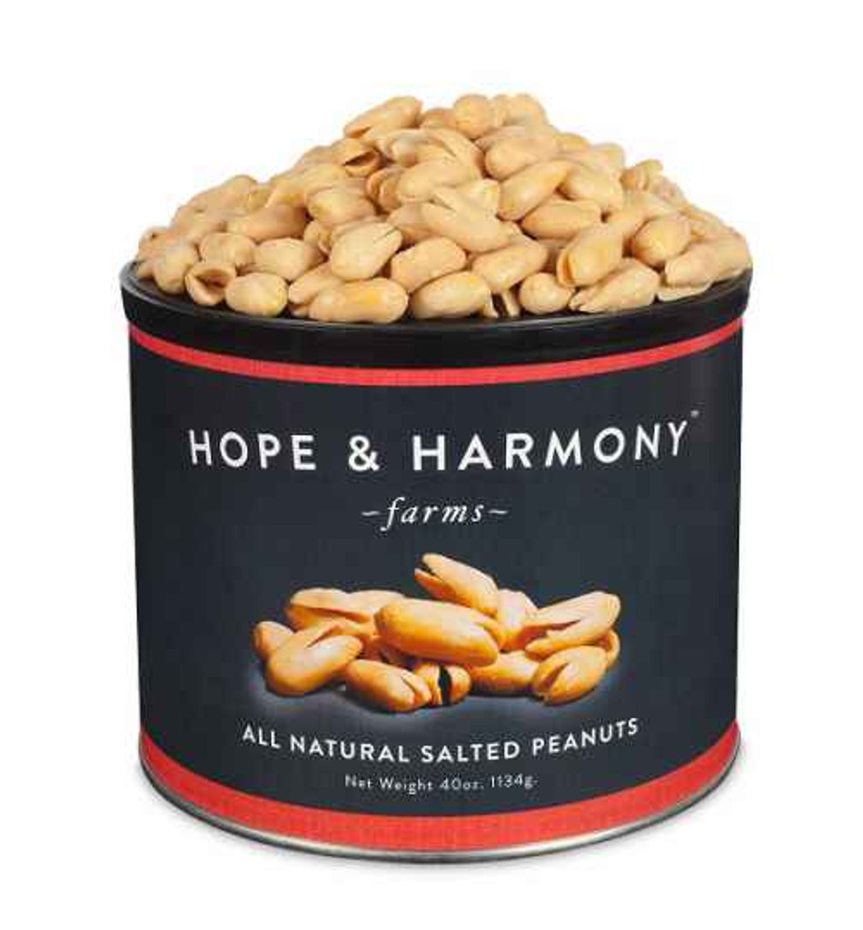 Hand-cooked Super Extra Large blistered Virginia peanuts that are wonderfully crunchy and fresh with a distinctive flavor direct from our farm to you.