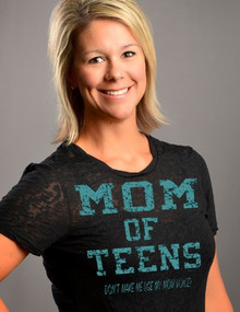 Mom of Teens Closeup