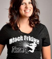 Black Friday Ninja Closeup