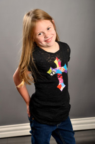 Patchwork Cross Tween Burnout