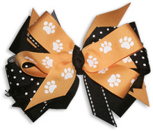 Paw Pride Gold Bow