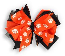 Paw Pride Orange Bow