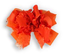 Solid Orange Bow