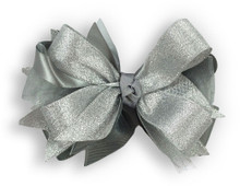 Solid Silver Bow