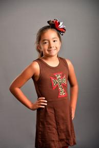 Red Leopard Cross Dress